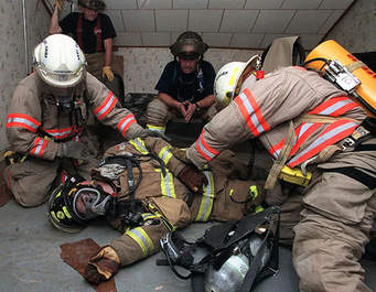 Firefighter rescue photo 2